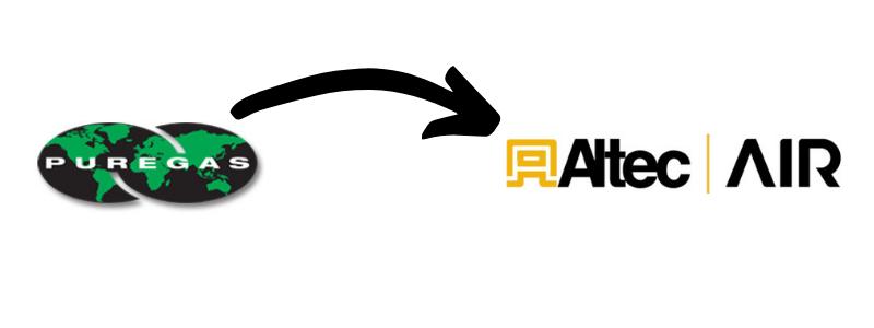 Puregas is now Altec AIR