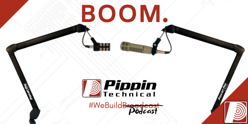 New Product – Podcast Pro mic boom