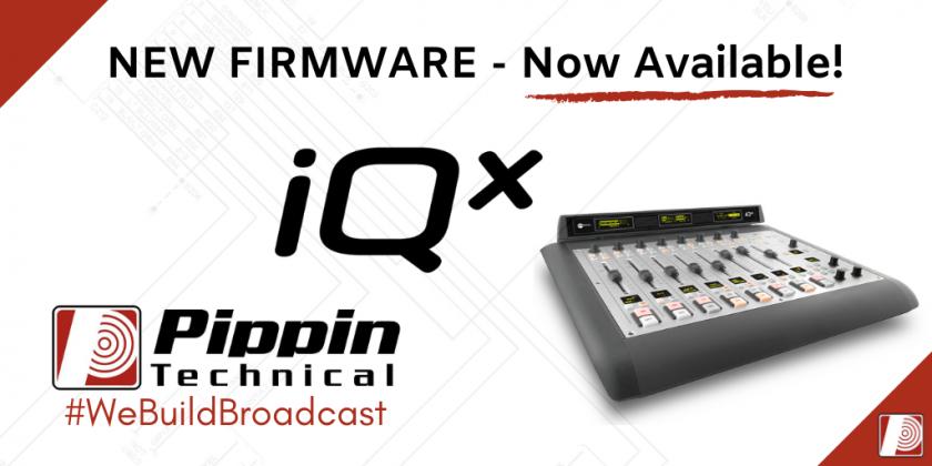 iQx Firmware Update (1.3.3)