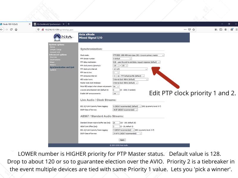 EDIT - change PTP settings (2)