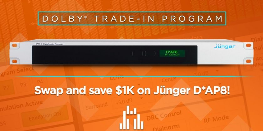 Jünger's New Dolby Trade-In Program Launches!